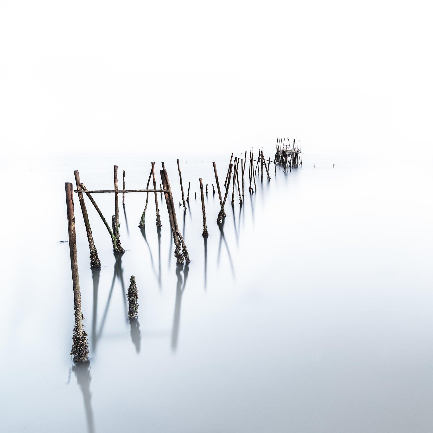 long exposure,zeiss,old bridge,fog,morning,minimalistic,felix ostapenko,nikon,, Felix Ostapenko