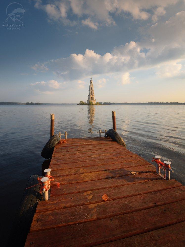 пейзаж, природа, река, россия, рассвет, Анатолий Гордиенко www.fototour.org