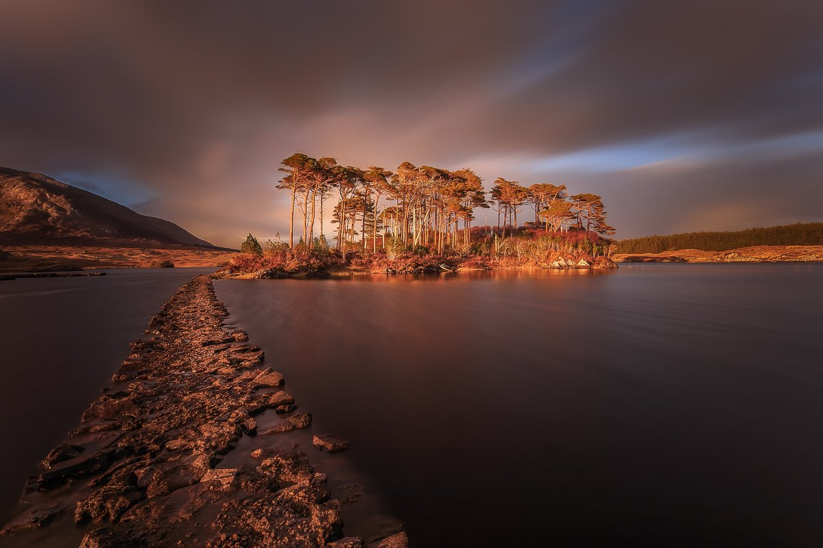 Longexposure, sunrise, sunset, Connemara, Ireland, landscapes, , Ryszard Lomnicki