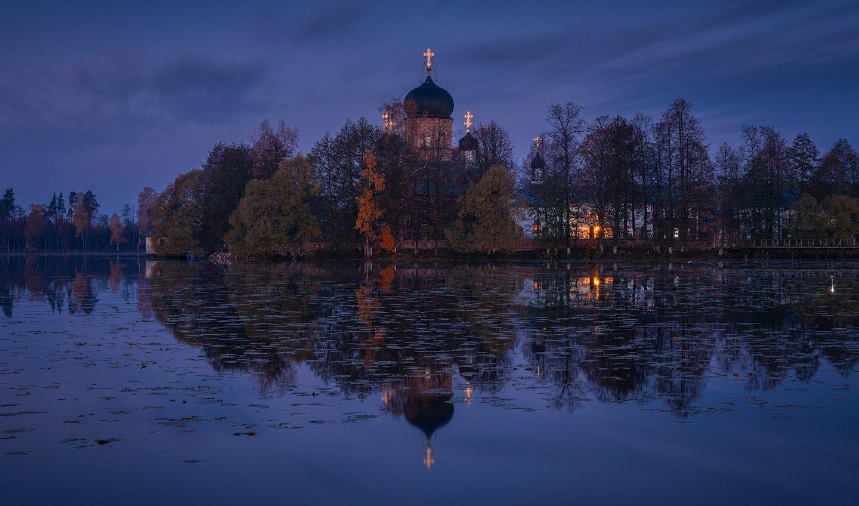 пейзаж, введенское, рассвет, утро, россия, природа,, Виталий Левыкин