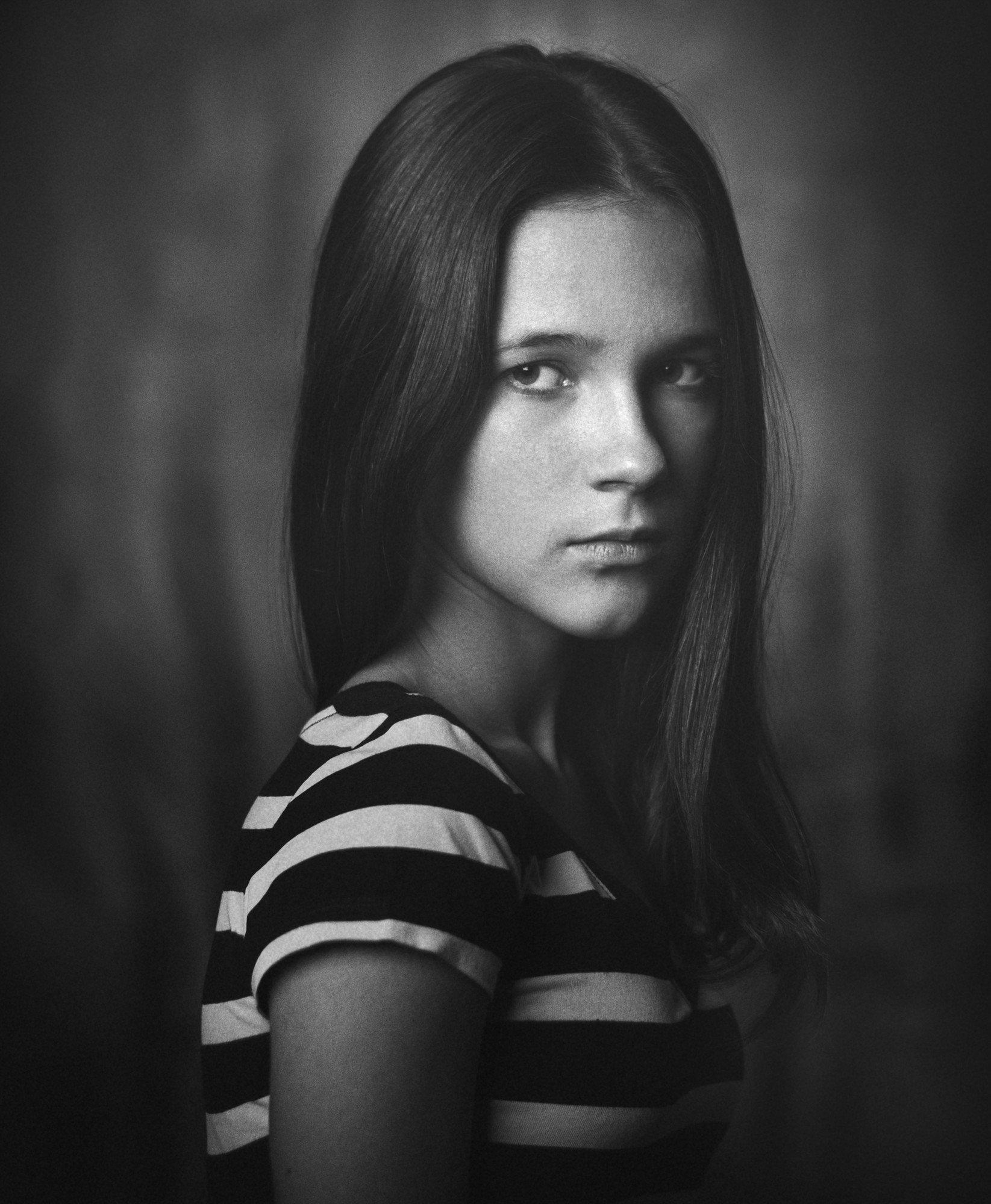 девушка, портрет, взгляд, valeko
