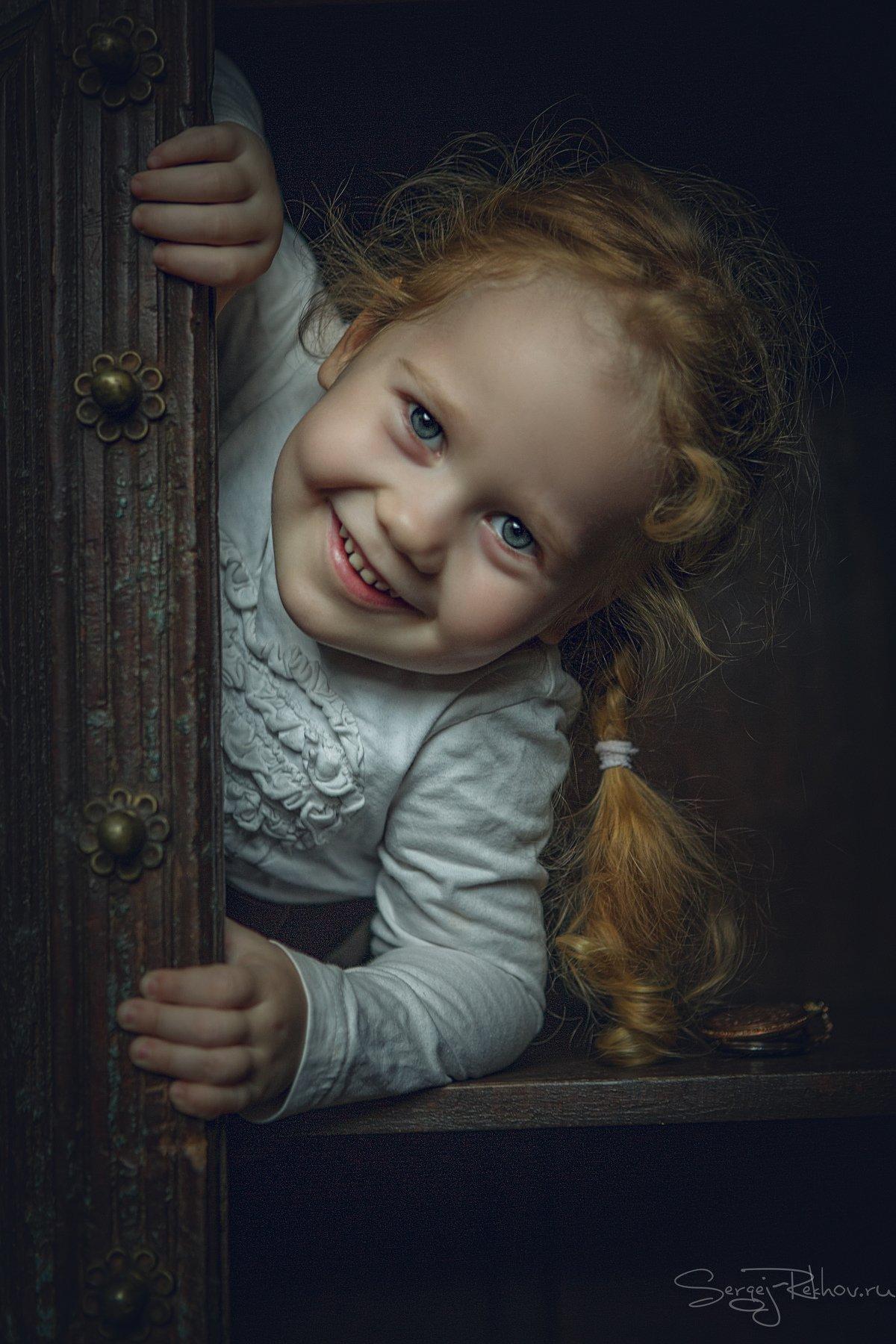 девочка, шкаф, портрет, ребёнок, rekhov, Сергей Рехов