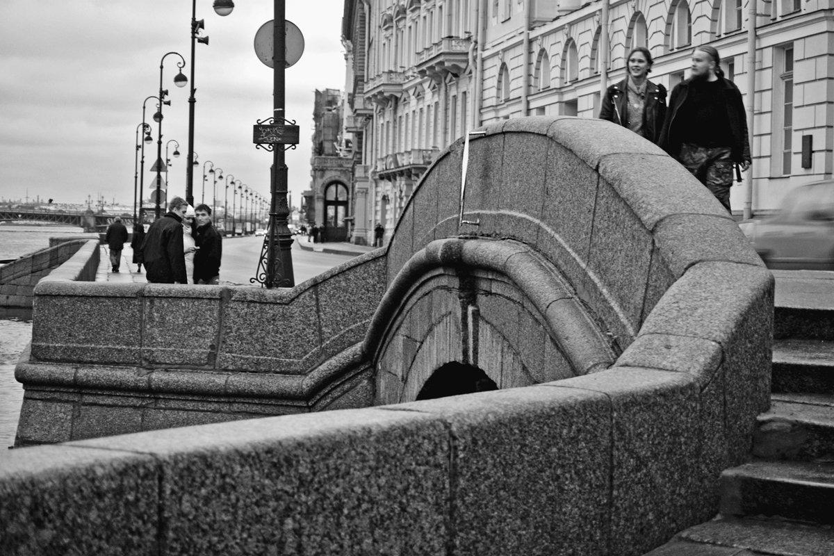 спб, река, набережная, чб, апатиты, Николай Смоляк
