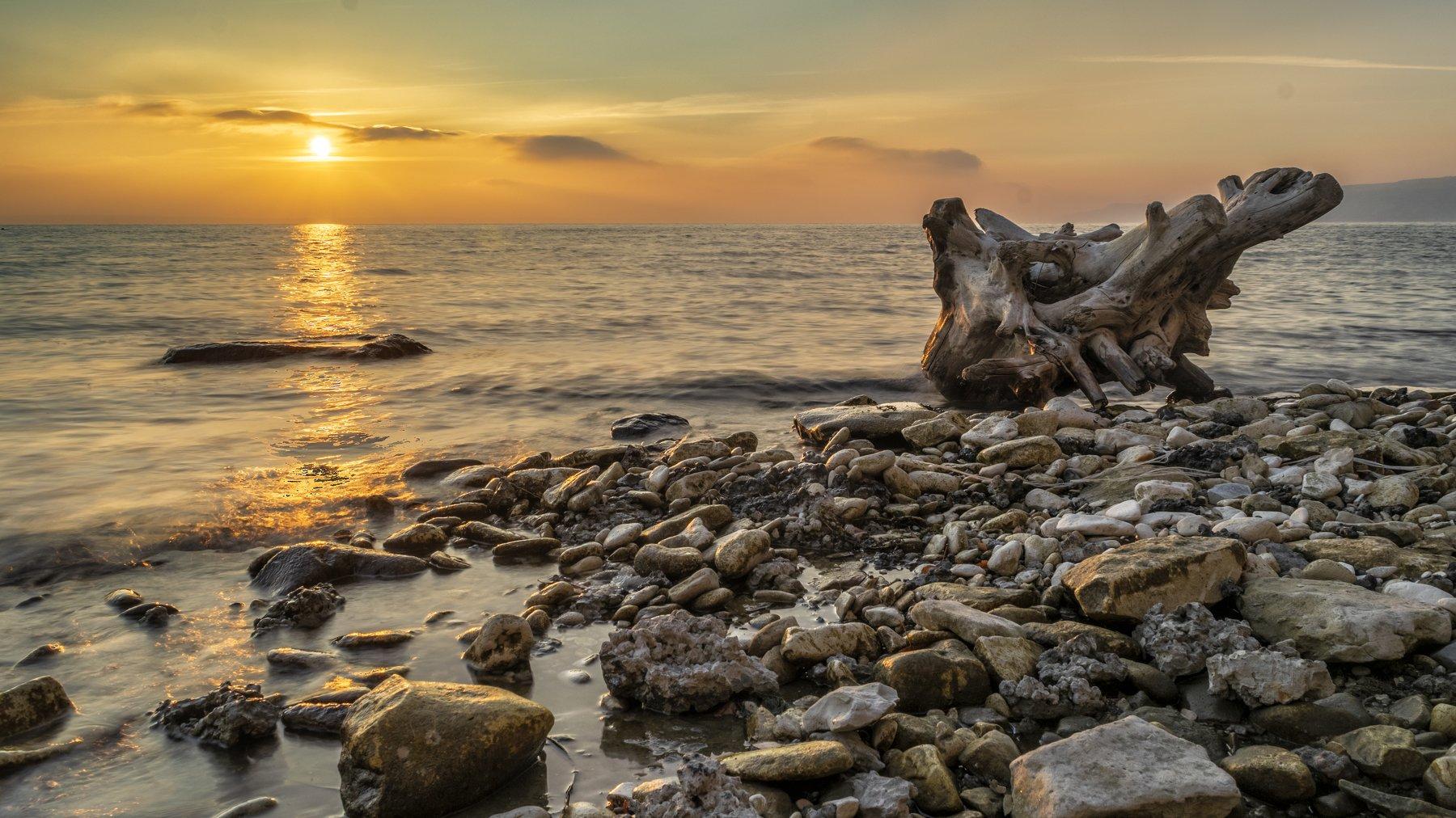 пейзаж, природа, река, волга, рассвет, камни, волны, landscape,nikon, natura, river, volga, stones, waves, Денис Гладких
