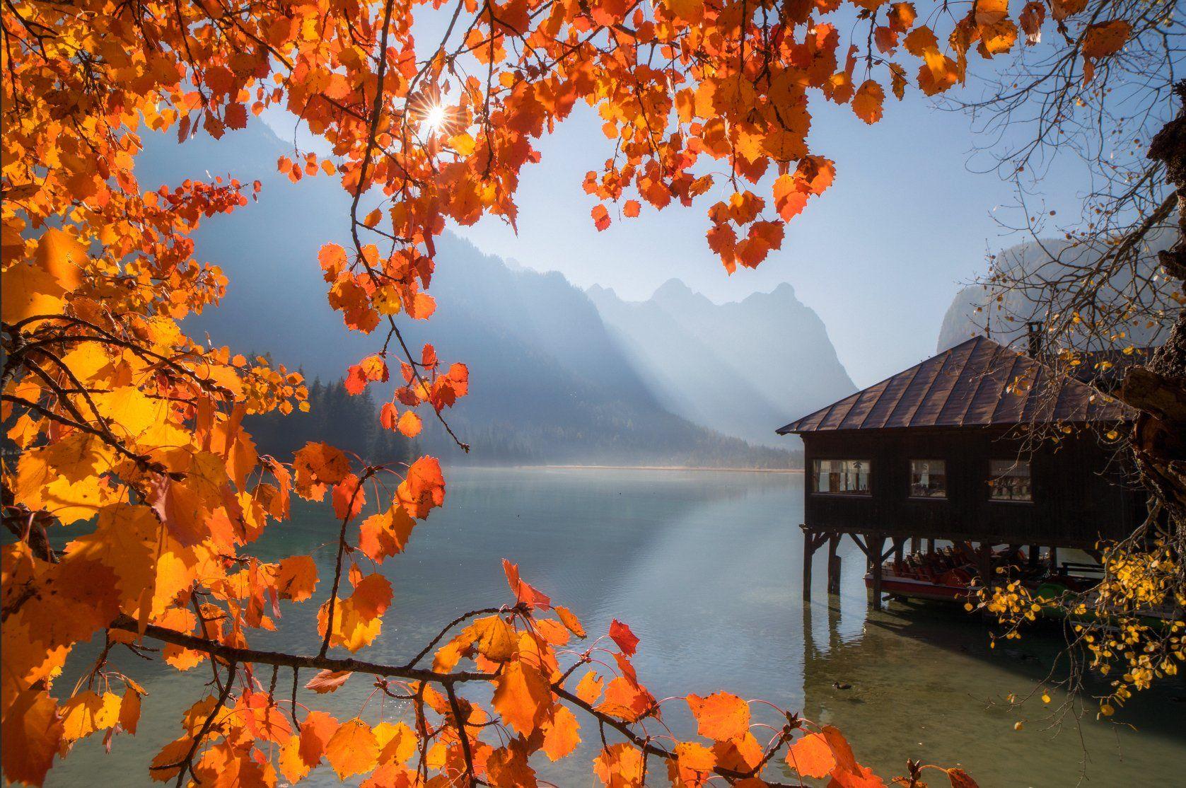 dolomites, italy, autumn, Сергей Луканкин