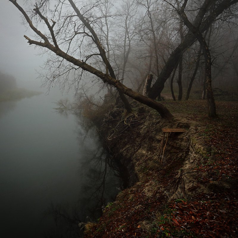 осень, октябрь, , река, вечер, Петриченко Валерий