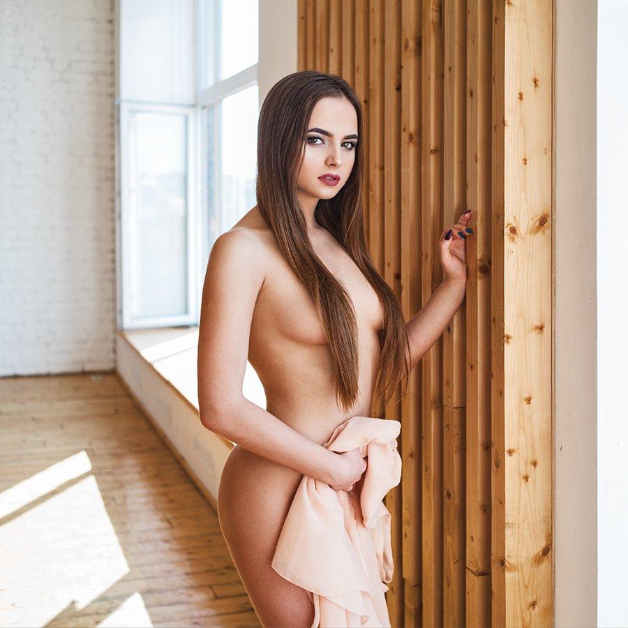 девушка, портрет, милая, cute, girl, portrait, обнажение, тело, Тимофей Смирнов
