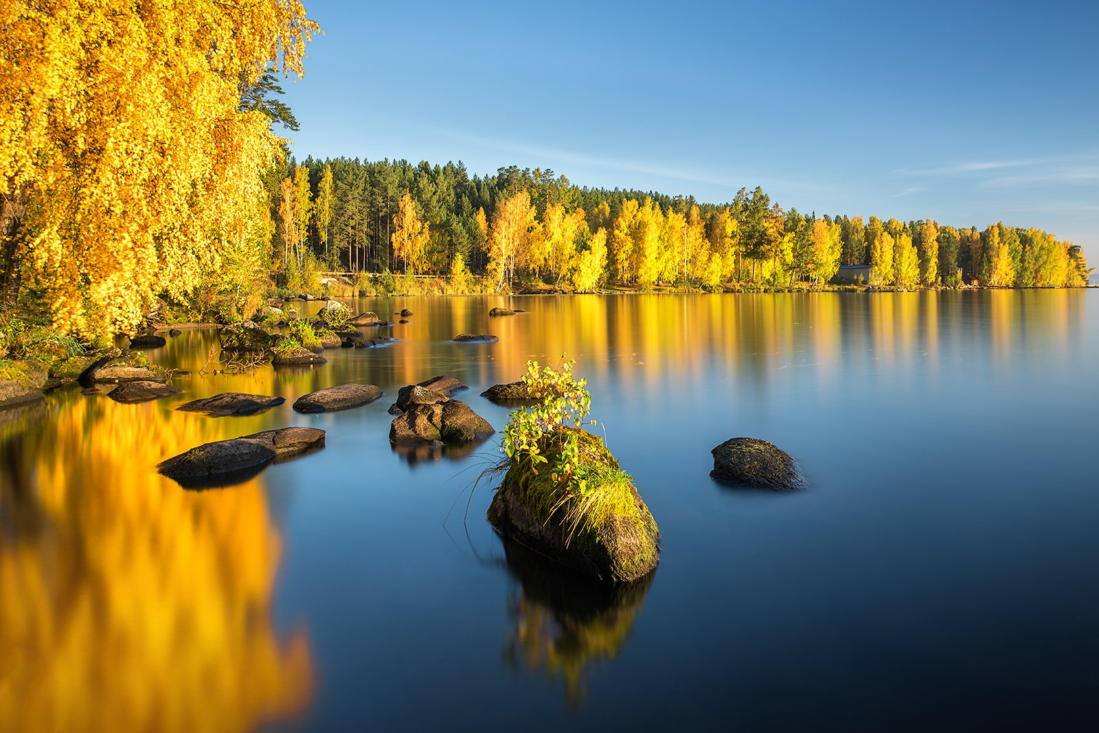 осень, таватуй, озеро, урал, Василий Яковлев