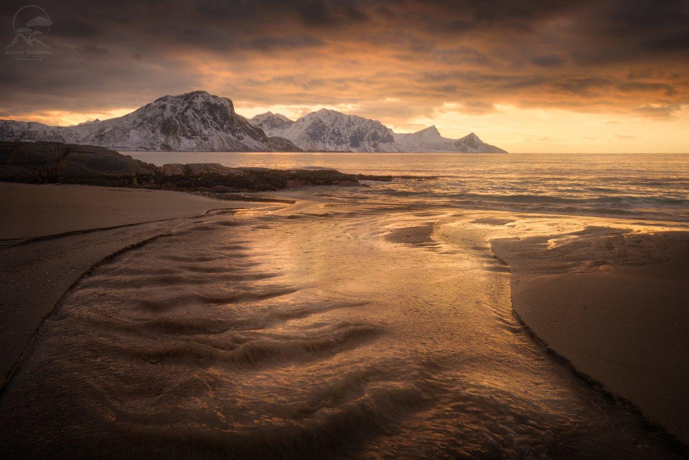 пейзаж, природа, море, норвегия, лофотены, Анатолий Гордиенко www.fototour.org