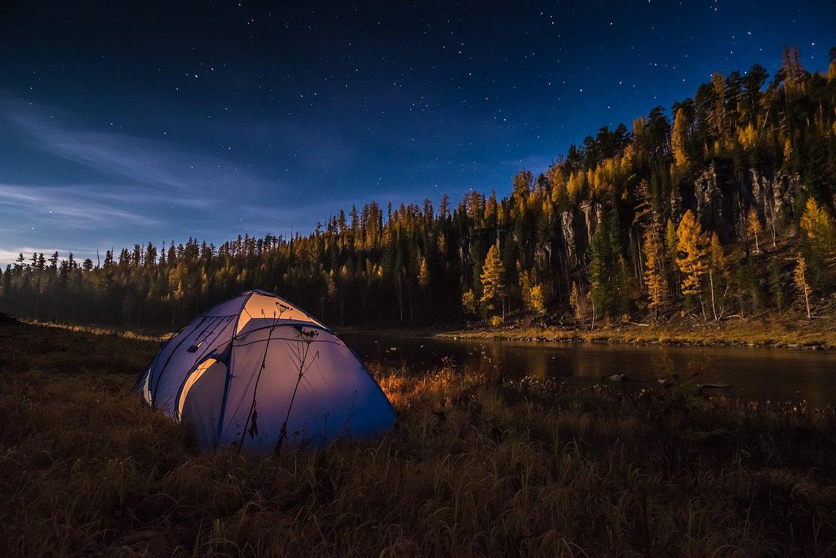 эвенкия, звезды, ночь, путешествия, сибирь, Екатерина Васягина PhotoJourneys.ru