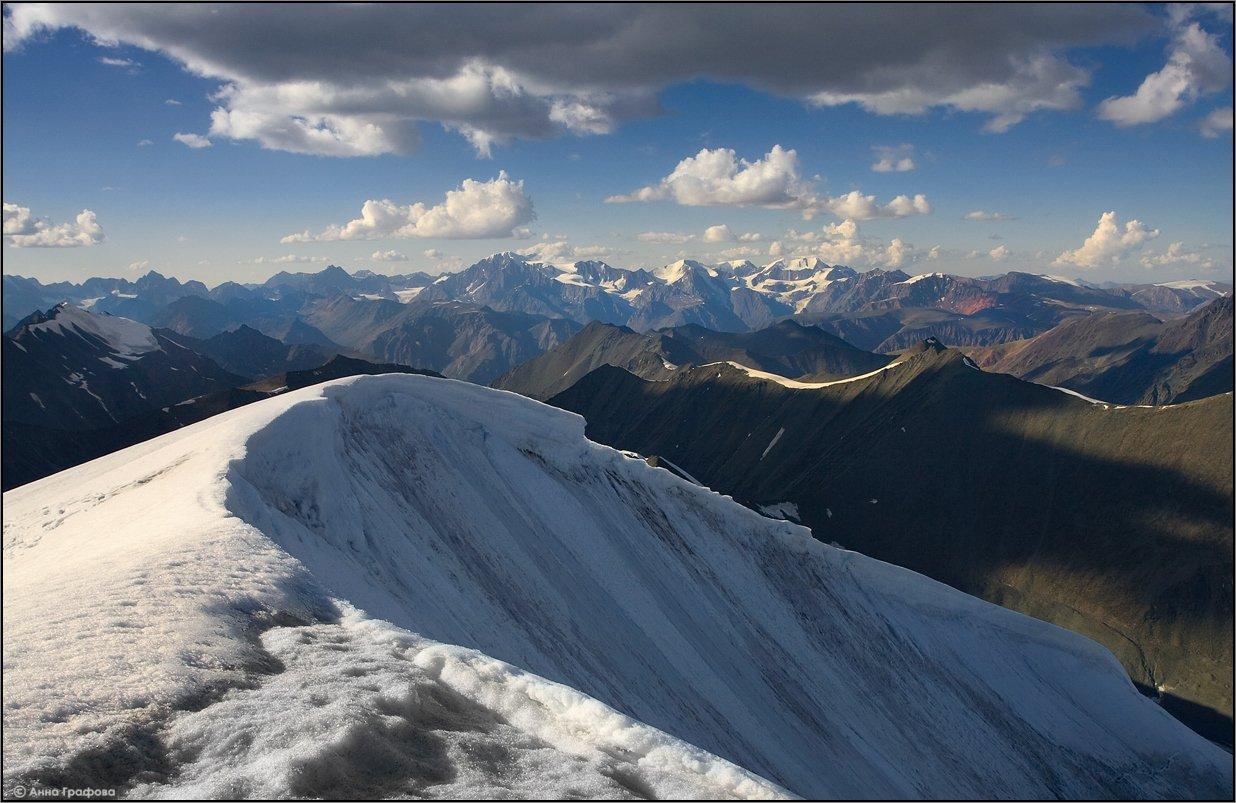 алтай, горы, горный алтай, вершина, иикту, южно-чуйский хребет, северо-чуйский хребет, аня графова, Аня Графова