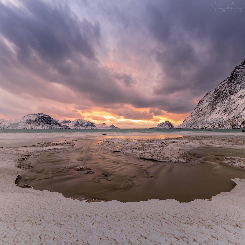 haukland beach lofotens, Merphy Sergey