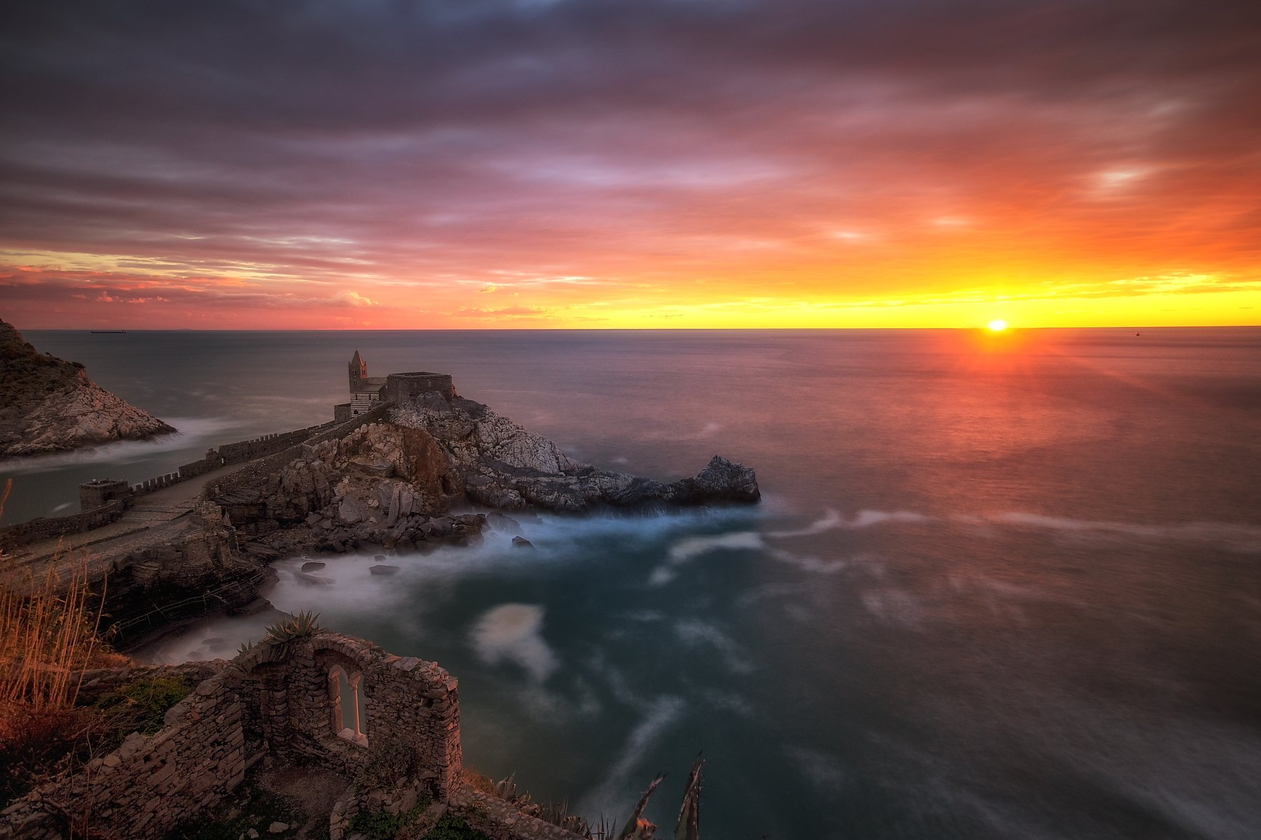 landscape   sea   sunset, Silvano Sil Passalacqua