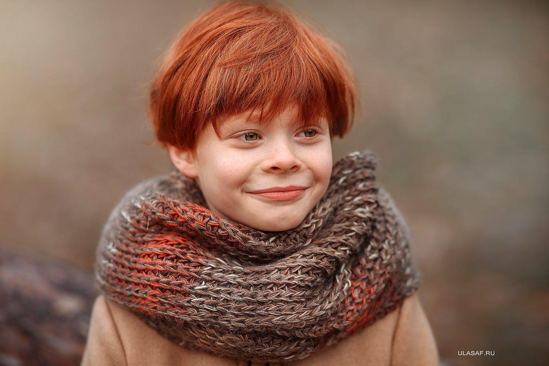 портрет, осень, мальчик, boy, autumn, лес, солнышко, лучи, sun, happy, happiness, сказка, волшебство, magik, рыжий, рыжик, red, зима, winter, Юлия Сафо