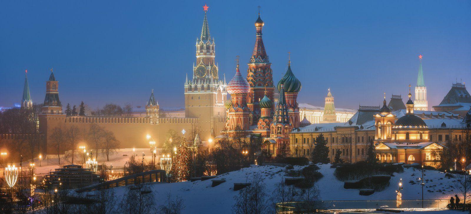 москва, зарядье, кремль, Ilya Melikhov