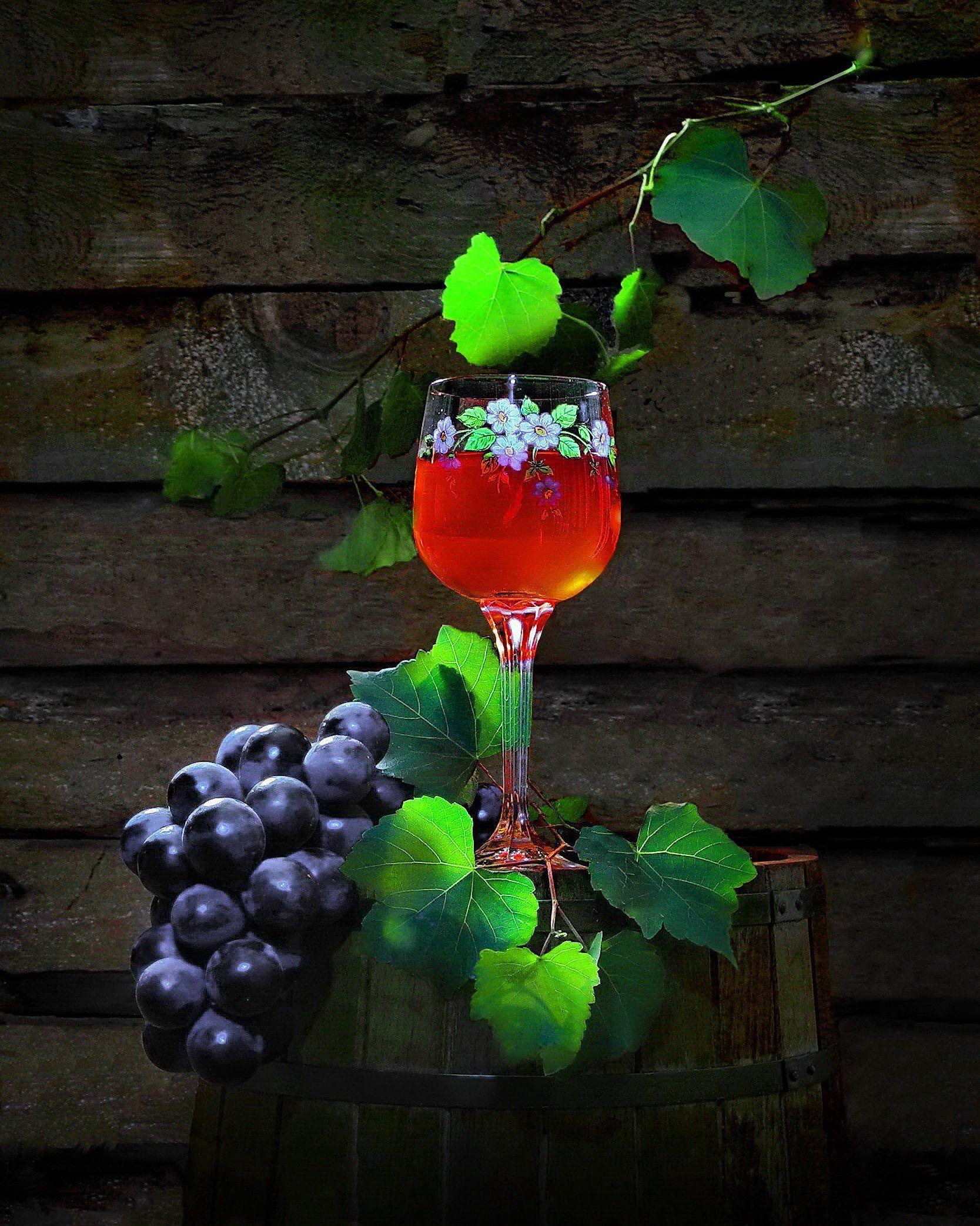 вино виноград ягоды сок, Сергей Фунтовой
