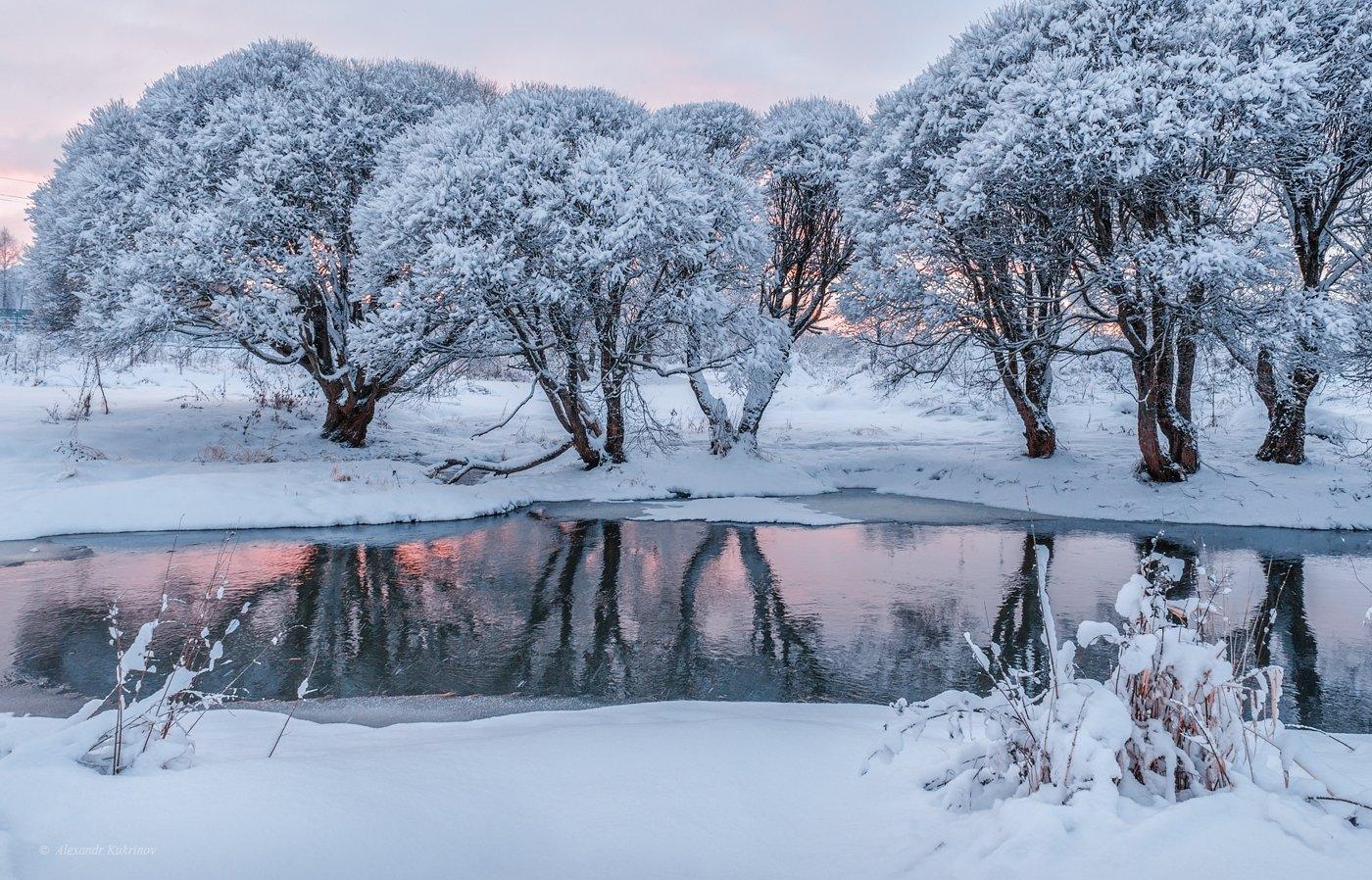 пейзаж, зима, вязьма, Александр Кукринов