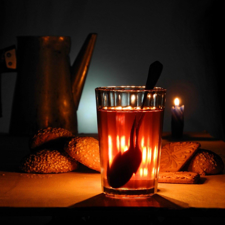 чай свеча печенье, Сергей Фунтовой