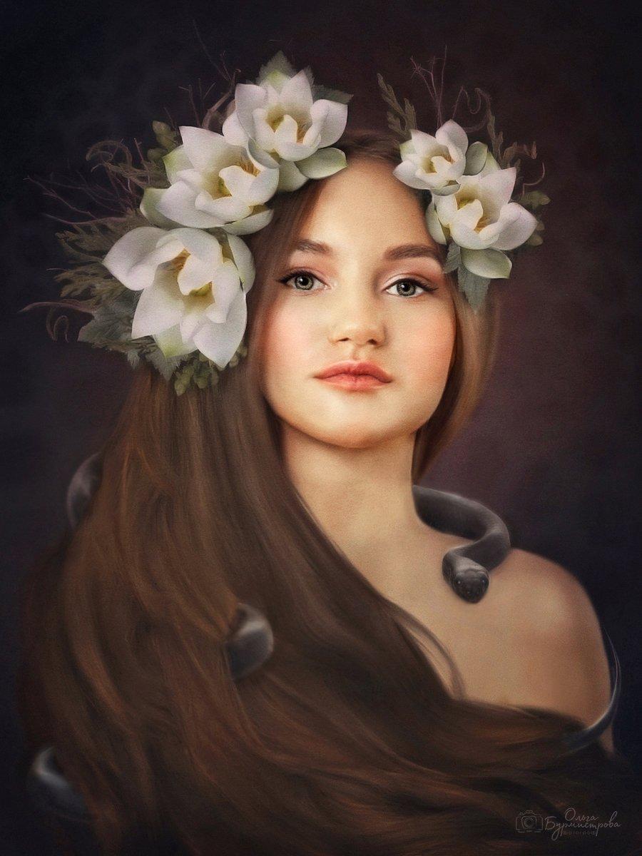 фото в образе, сказка, арт-фото, фотоарт, арт, стилизованное фото, Ольга Бурмистрова