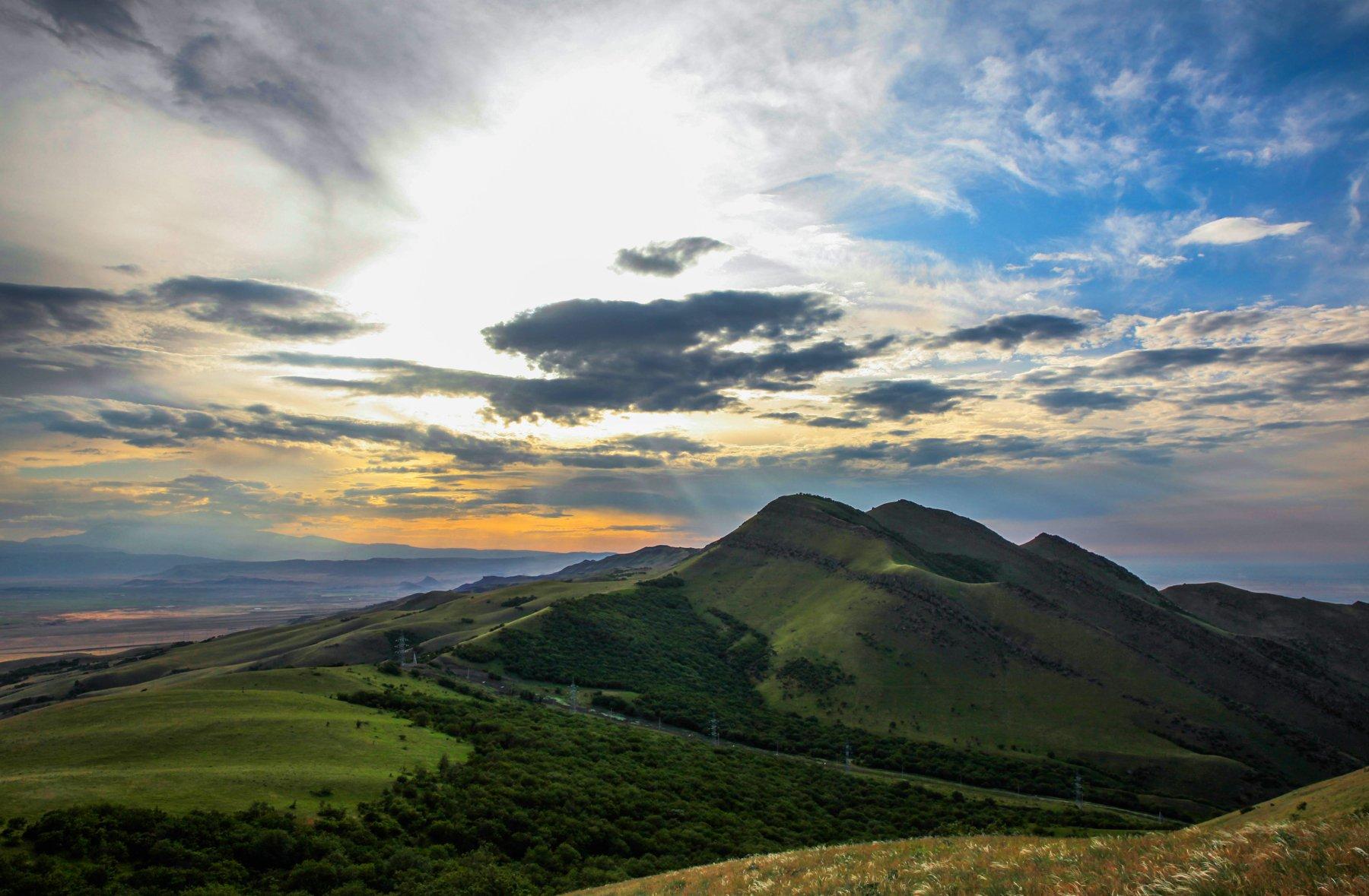горы,лето,пейзаж,вершины,просторы, Марат Магов