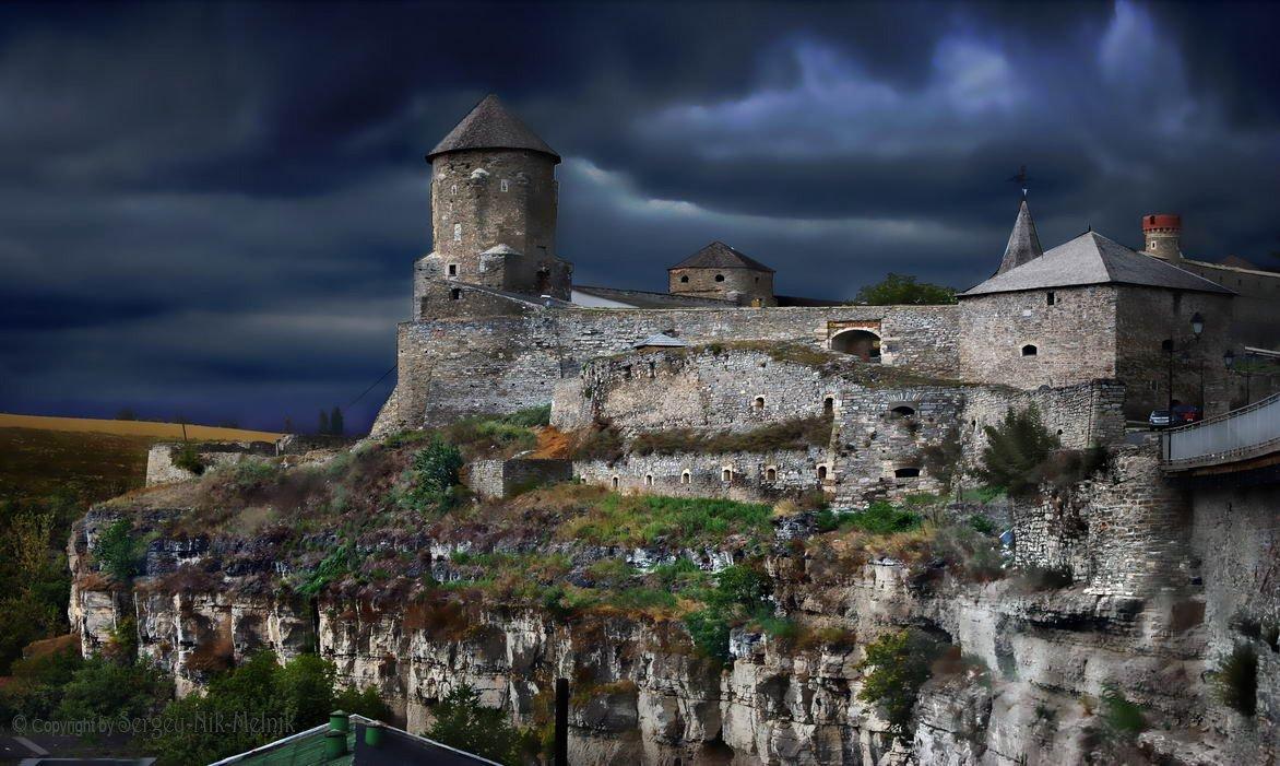 украина, замок, хотин, Sergey-Nik-Melnik.by