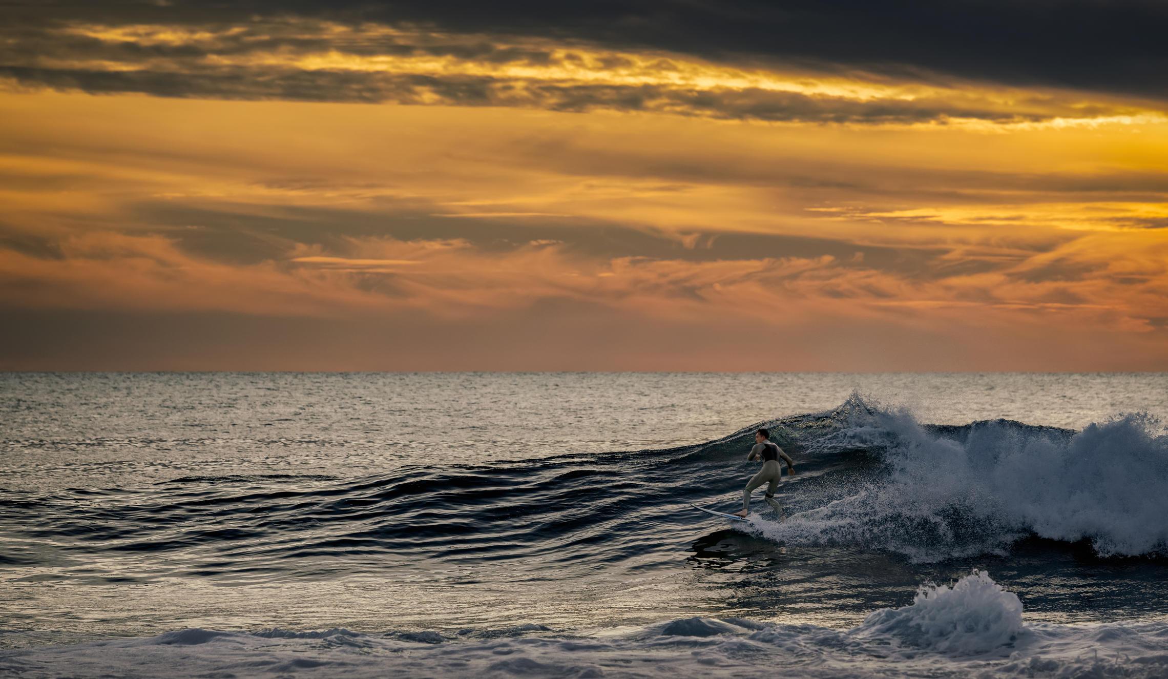 серфер, волны, океан, Alexandr Bezmolitvenny