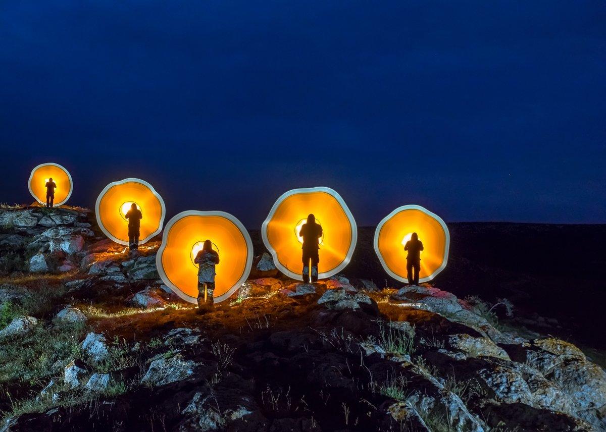 #lightpainting, #lightart, #longexposure, #nightphotography, #light, #night, Николай