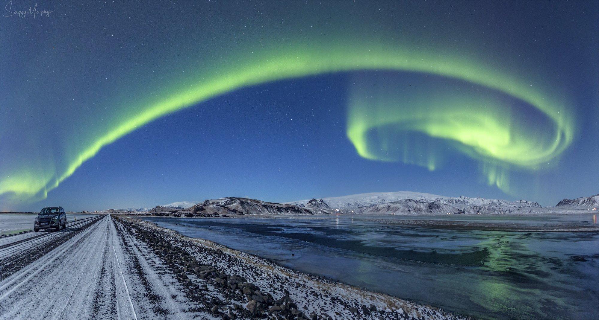 road 218. dyrholaey. iceland., Merphy Sergey