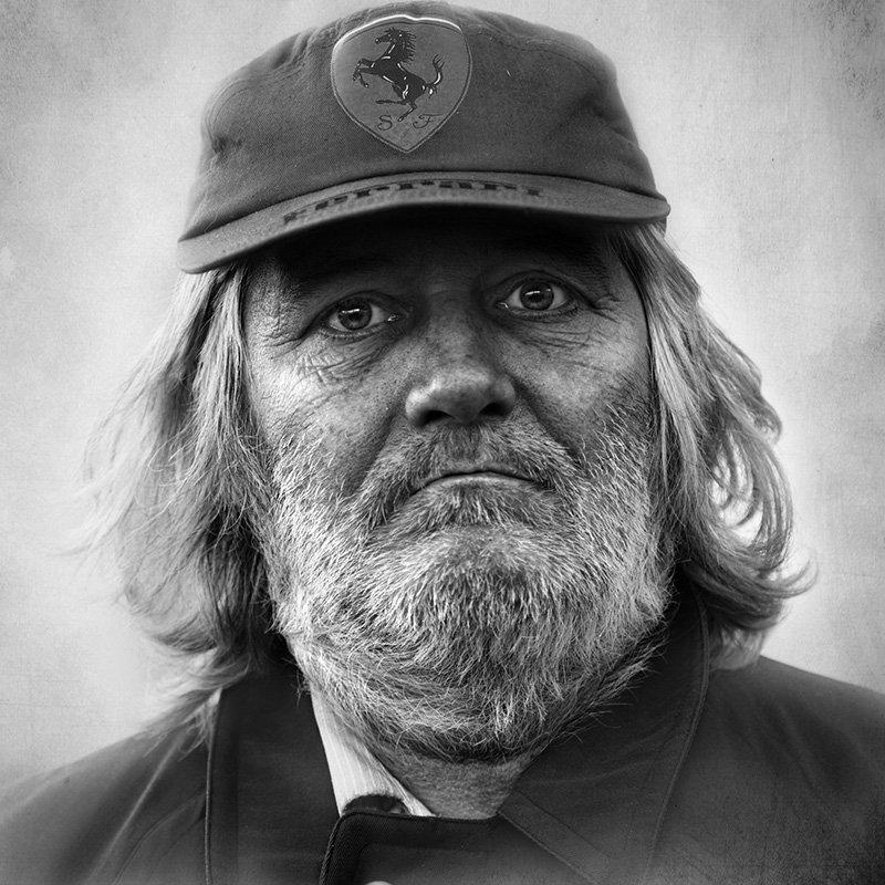 портрет,улица,люди,юрец, Юрий Калинин