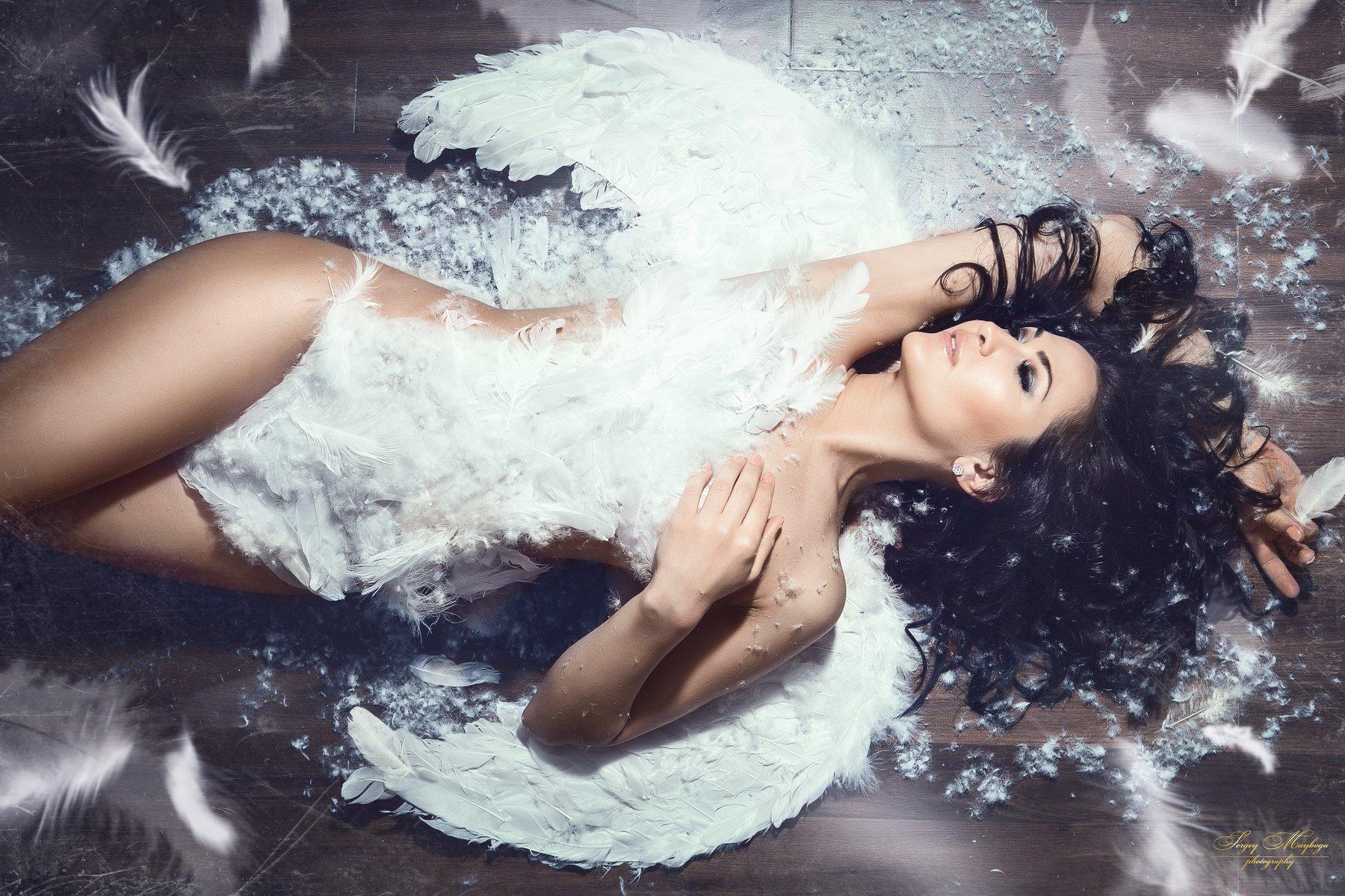 angel,women,portrait,canon,profoto,makeup,hairstyle , Сергей Майбога