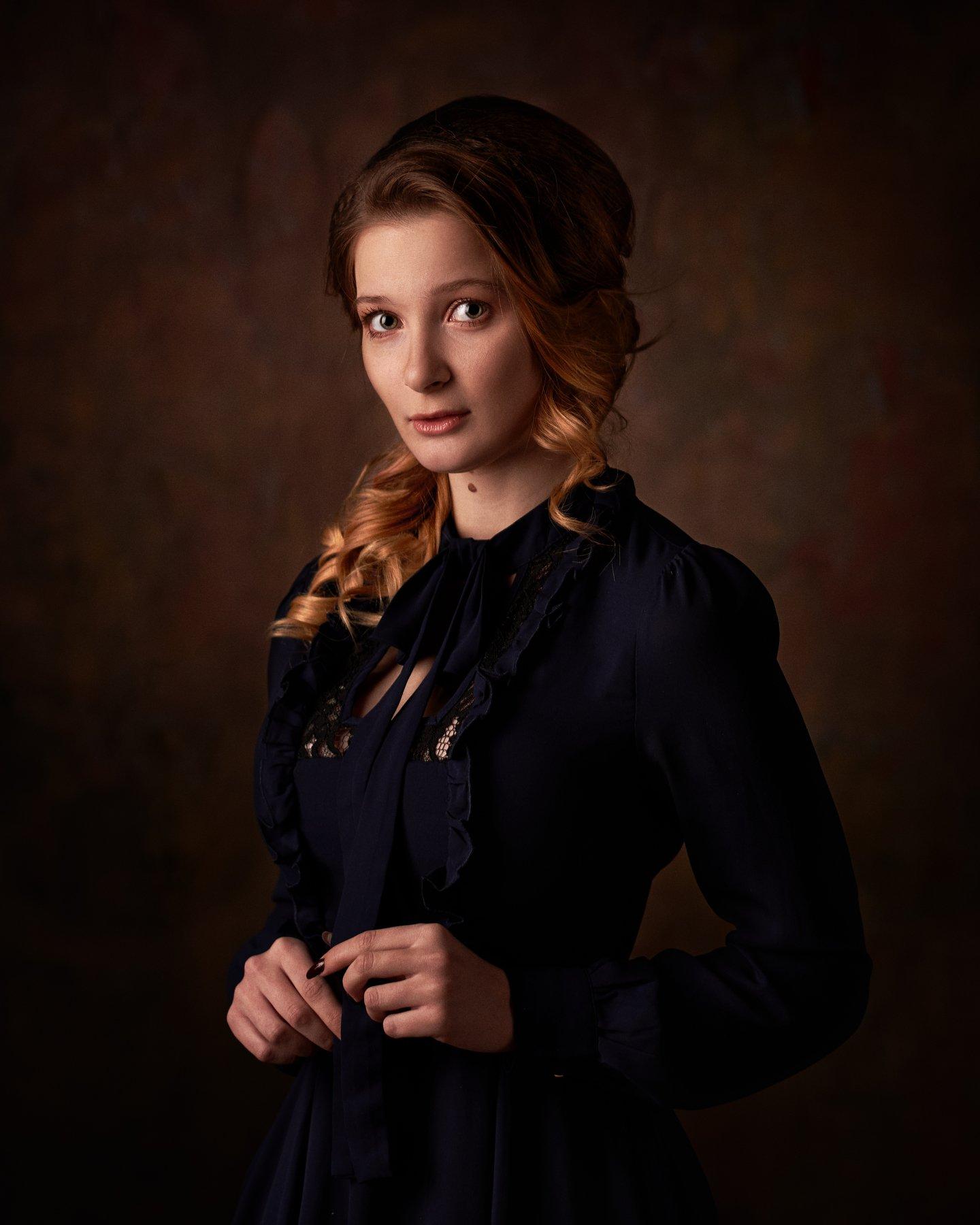pyzhikphoto, портрет, классика, классический портрет, портрет девушки, женский портрет, portrait, classic, art, красавица, фото, девушка, рыжая, веснушки, Пыжик Максим
