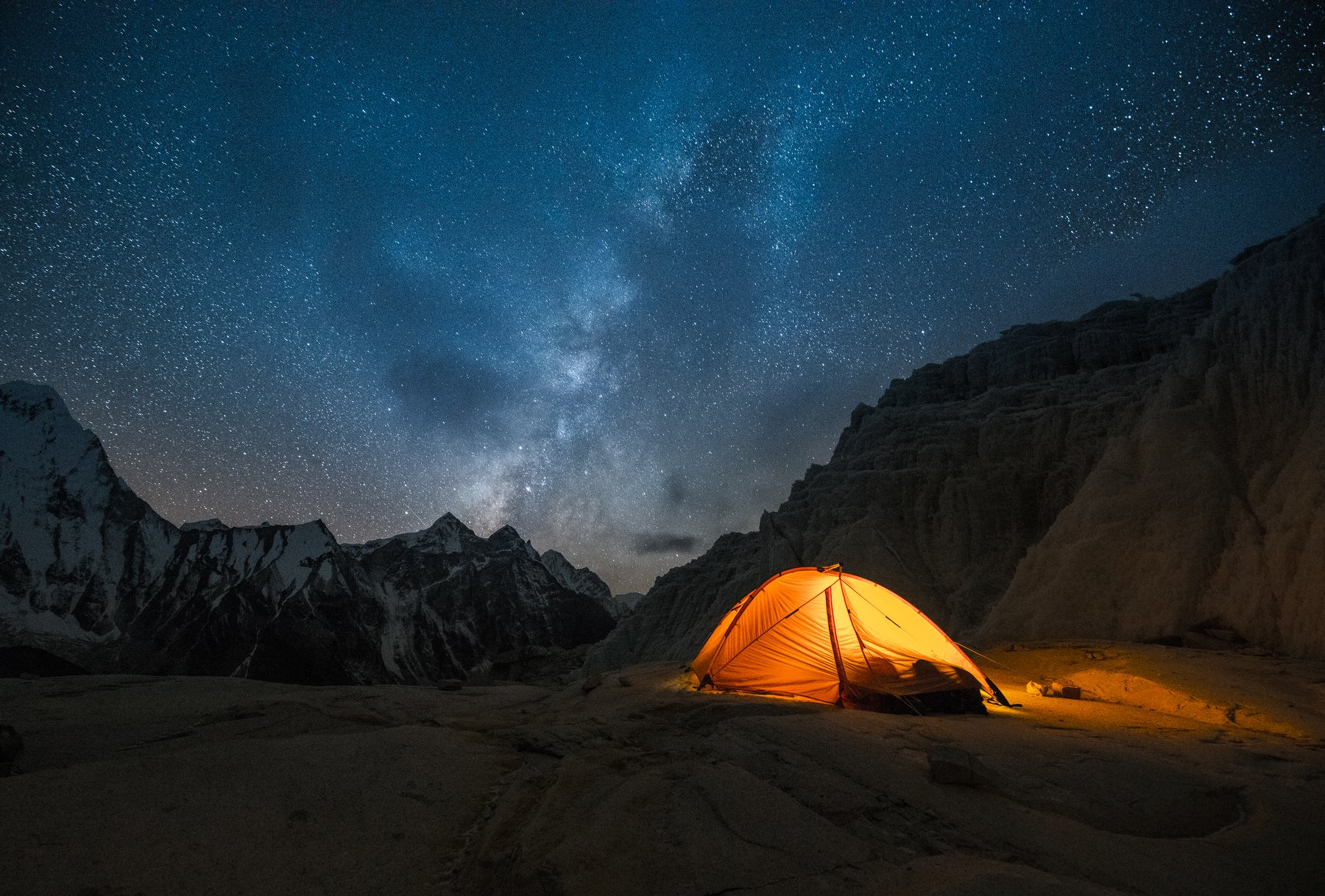 Гималаи, Мингбо-ла, Непал, палатка, горы, Evgeniy Khilkevitch