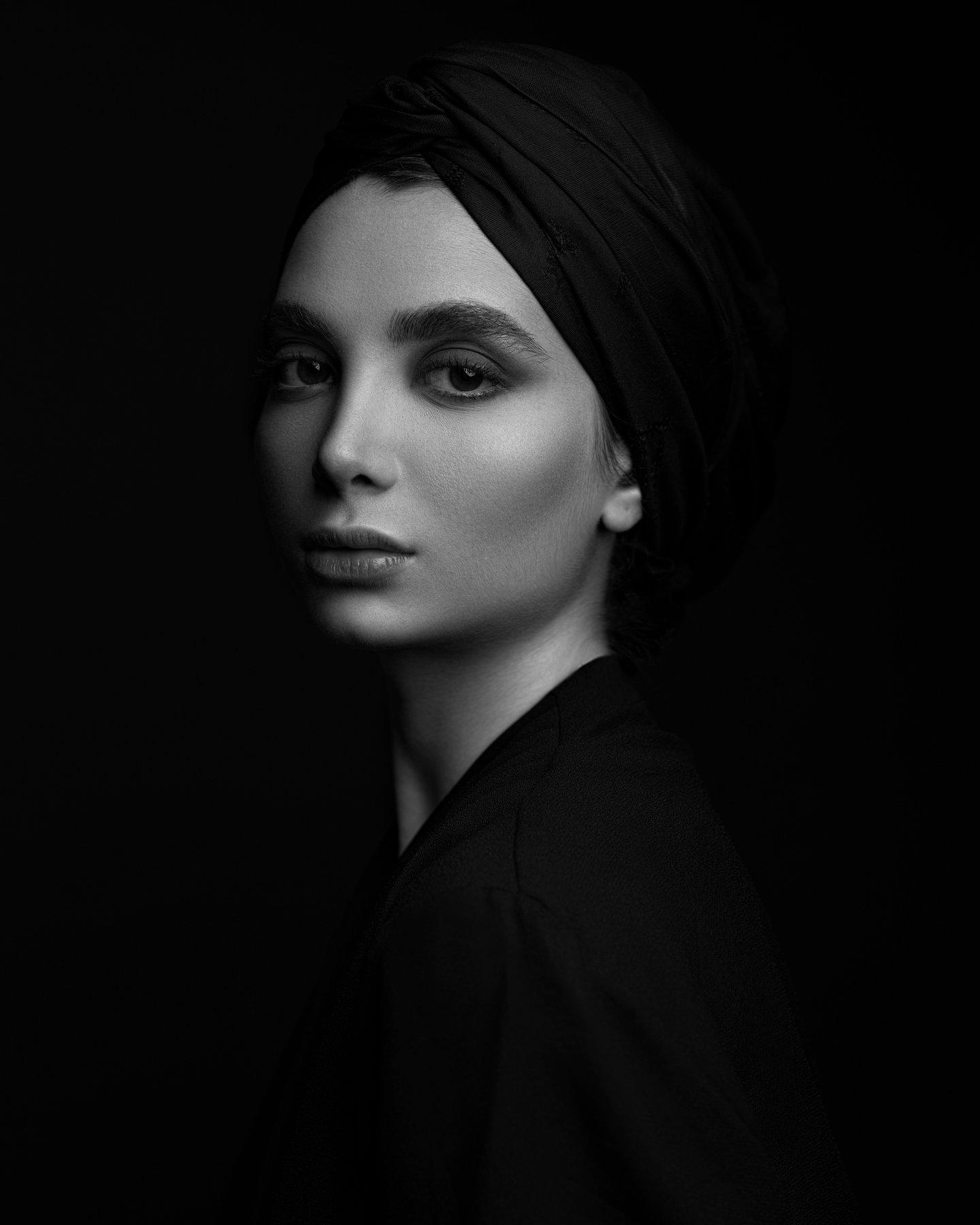 portrait, girl, eyes, lips, beautiful, studio, glamour, cute, pretty, style, eye, model, face, makeup, young, skin, headshoot, MahDan Alizadeh