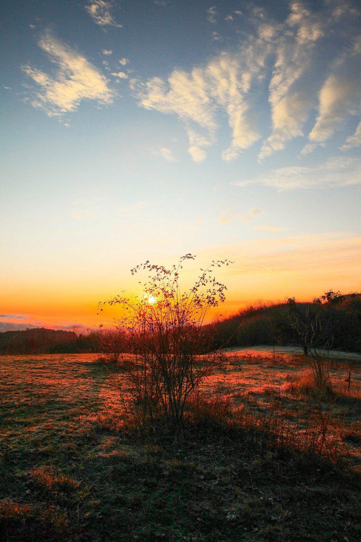 рассвет,горы,осень,природа., Марат Магов
