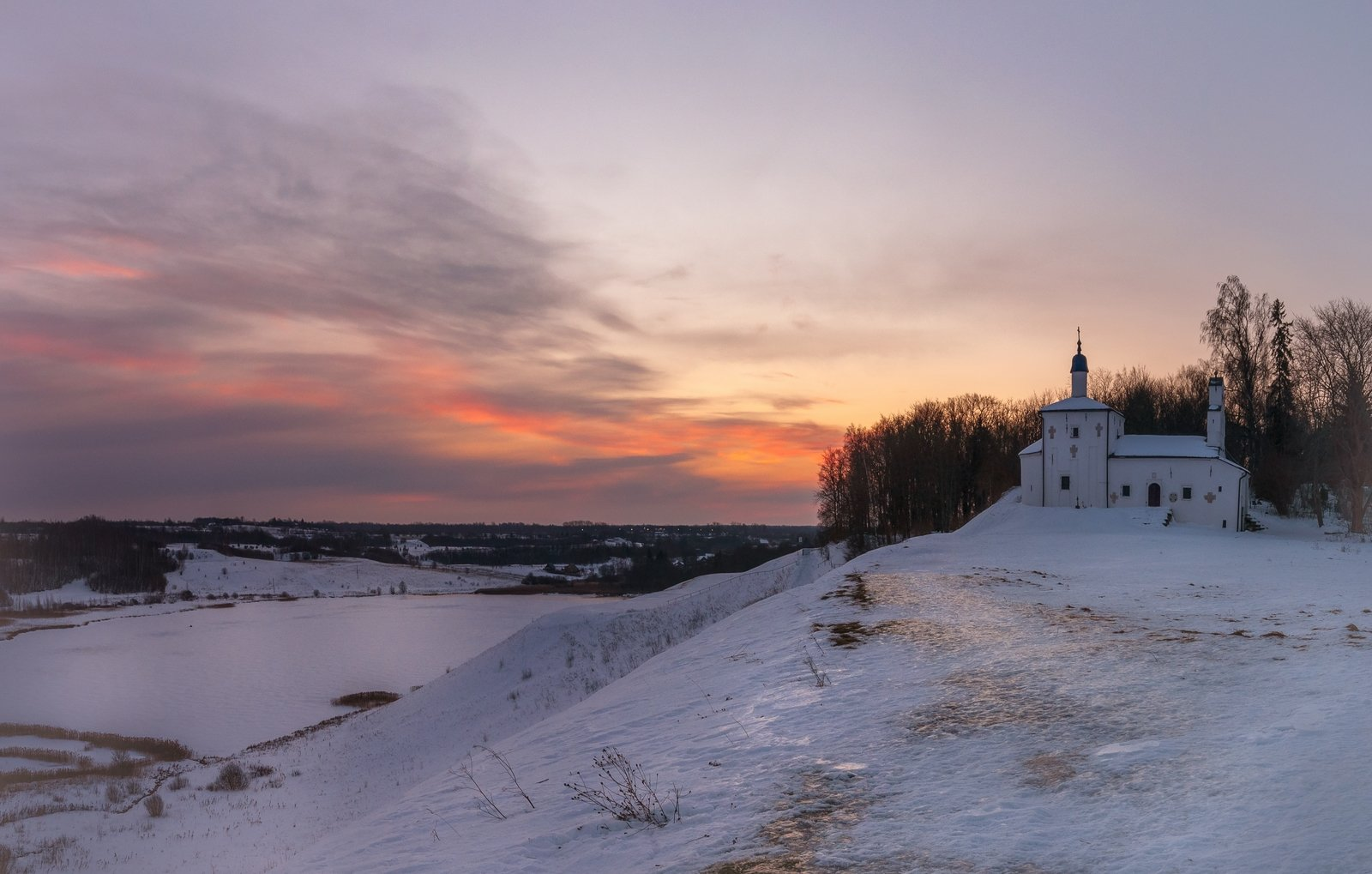 пейзаж, Дмитриев Роман