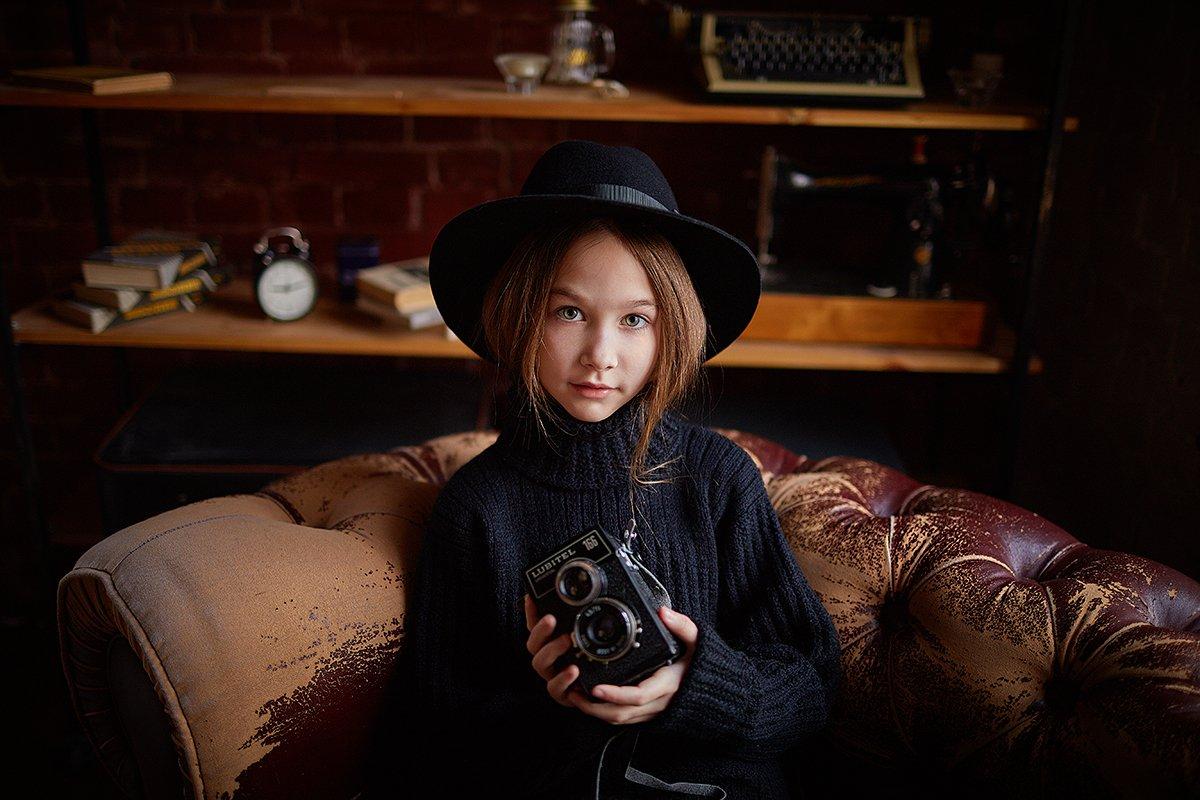 девушка, гламур, красота, портрет, Рузина Тина
