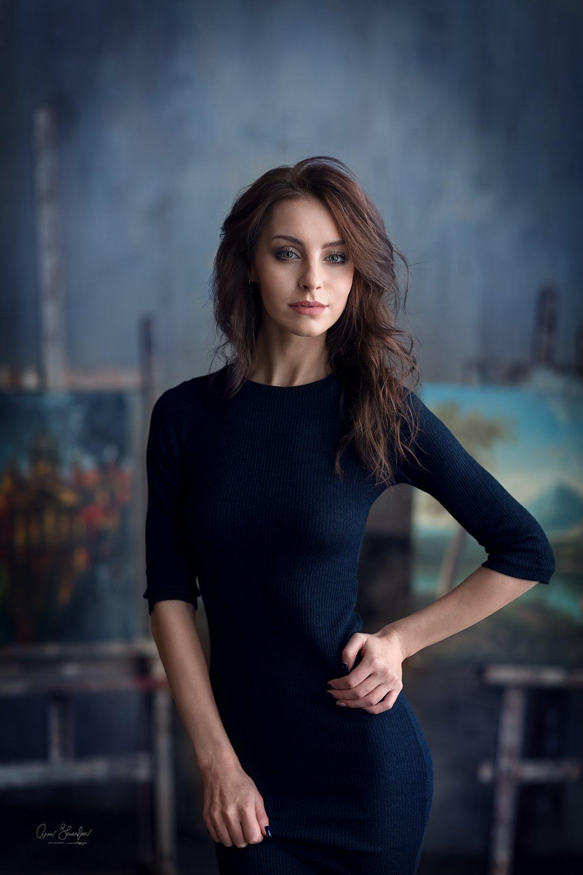 портрет красота девушка, Анна Шувалова
