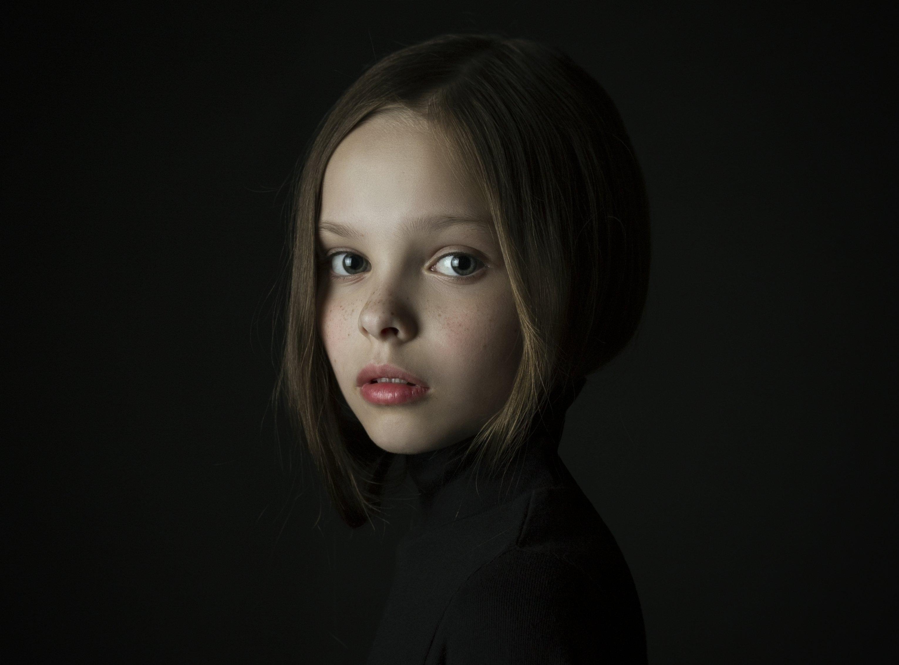 портрет, девочка, Давыденко Мария