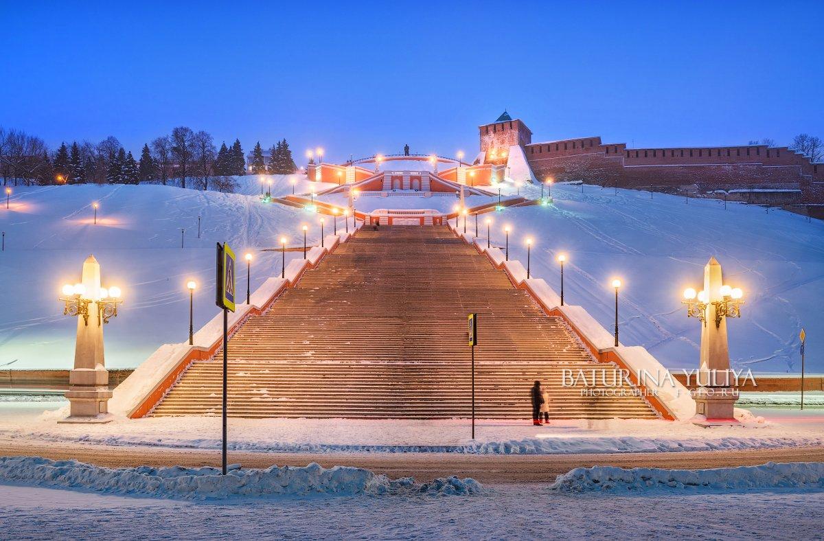 нижний новгород, чкаловская лестница, Юлия Батурина
