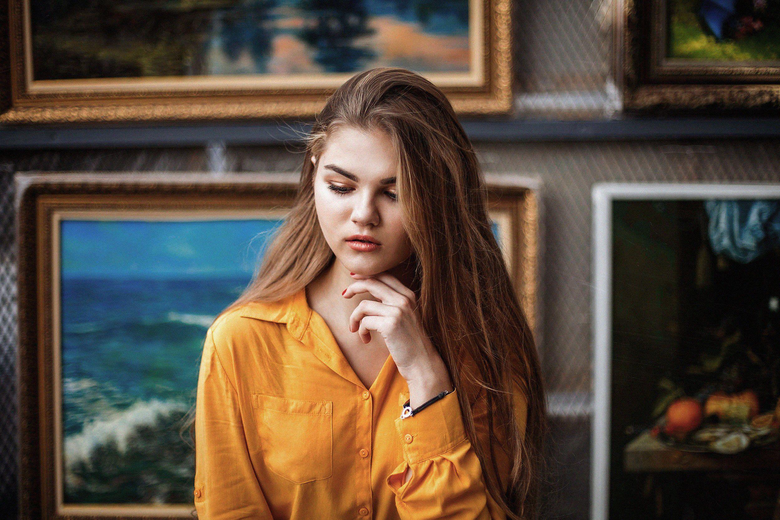 портрет,девушка,картина,живопись,искусство,женский портрет, Светлана