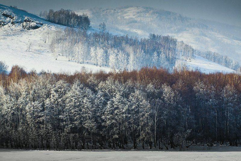 зима снег иней башкирия, Качурин Алексей
