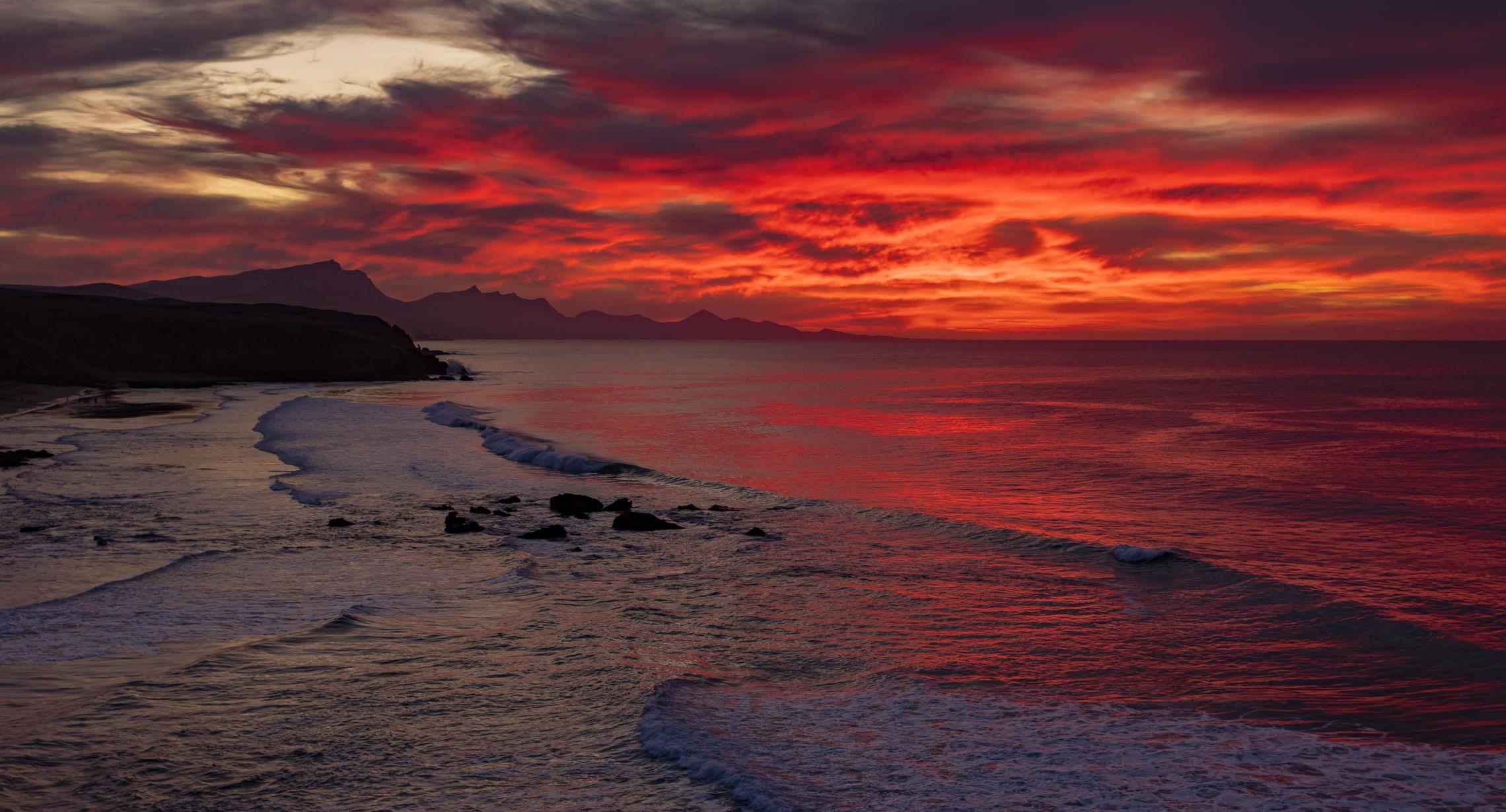 океан, закат, Alexandr Bezmolitvenny