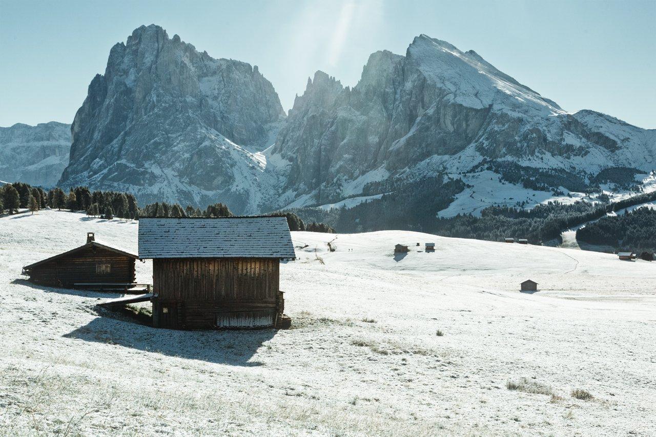 горы; лес; зима; туризм, Александр Удовиченко