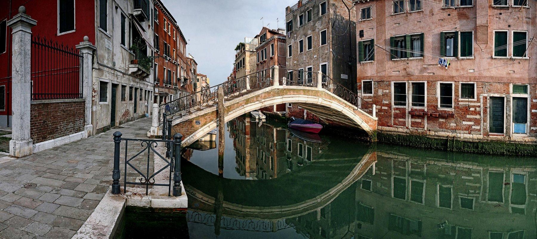 Венеция, мост, канал, Гаганов Евгений