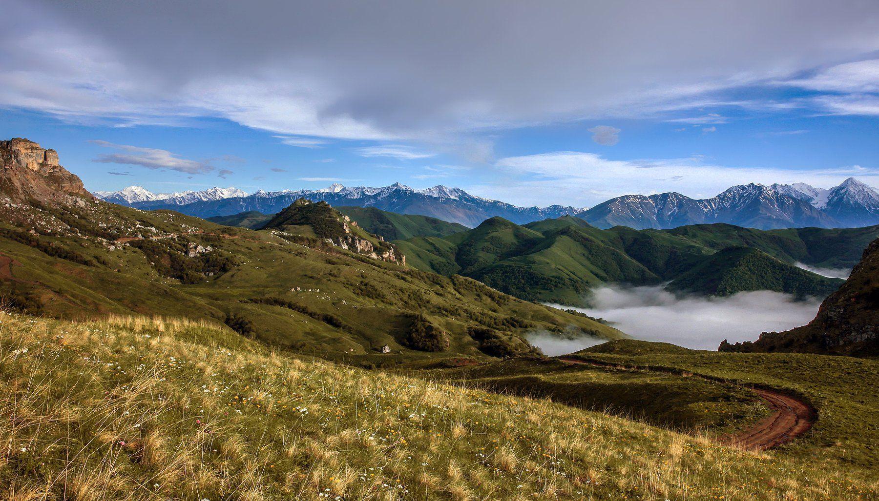 горы,лето,пейзаж, Марат Магов