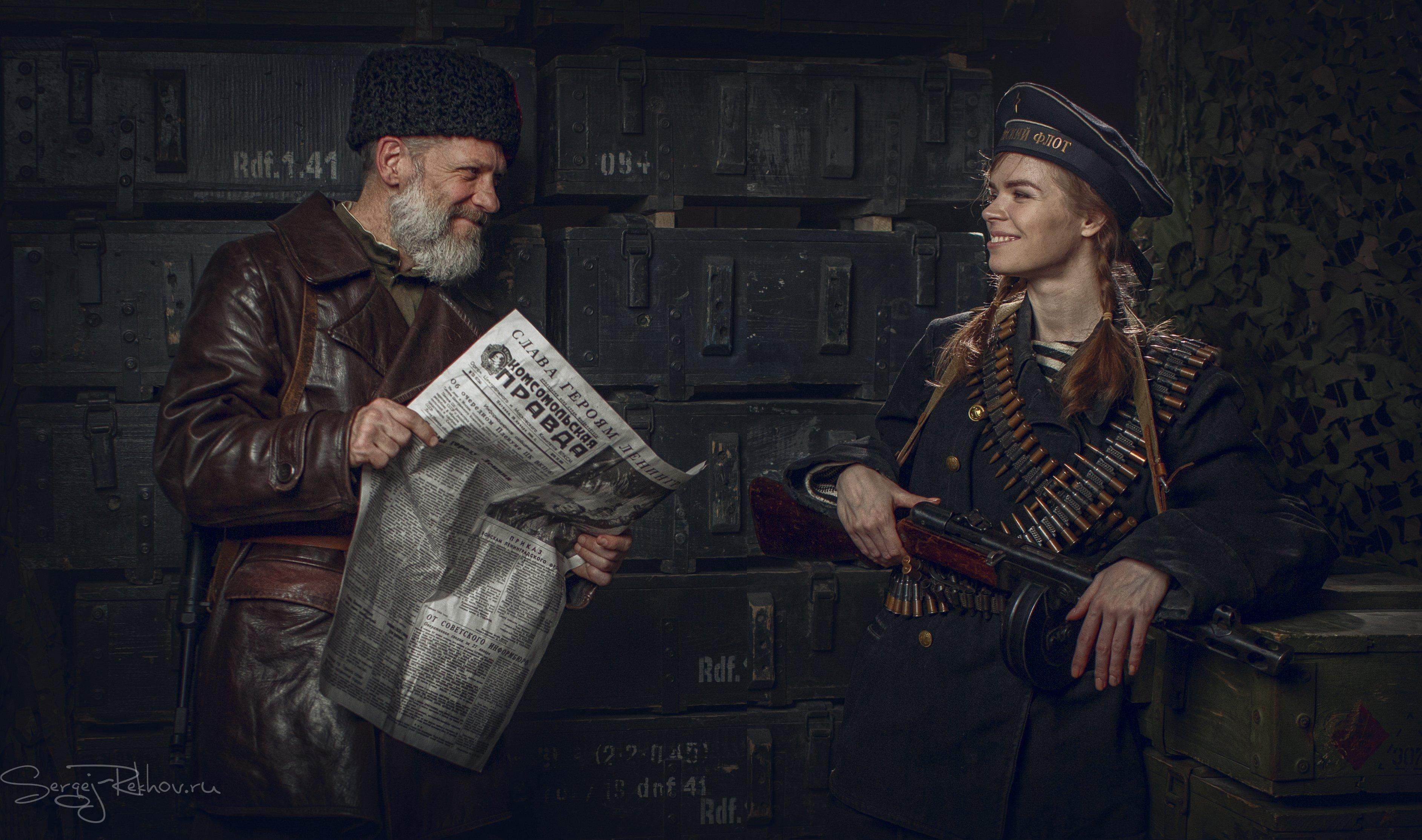 студия цитадель, портрет, блокада, ленинград, portrait, Рехов Сергей