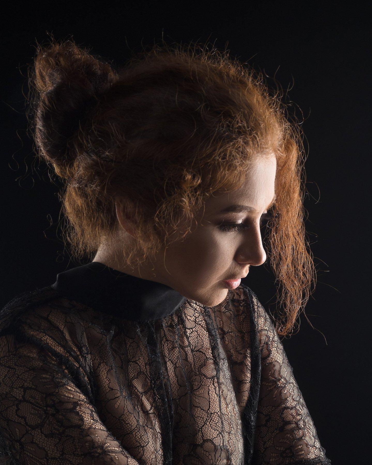 портрет, женщина, сексуальность, Алексей Школдин