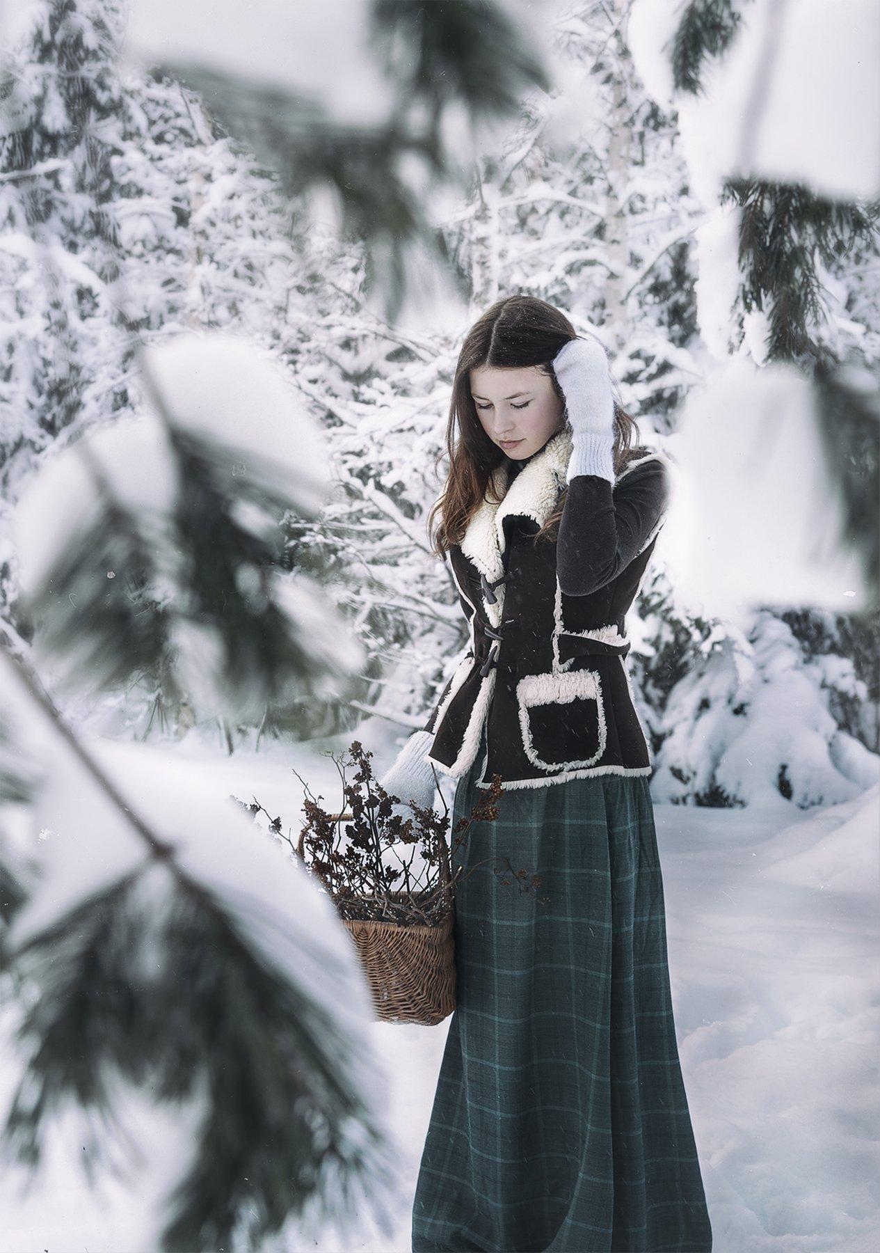 fine art , постановочная фотография ,жанровый портрет, Kholodova Natalia