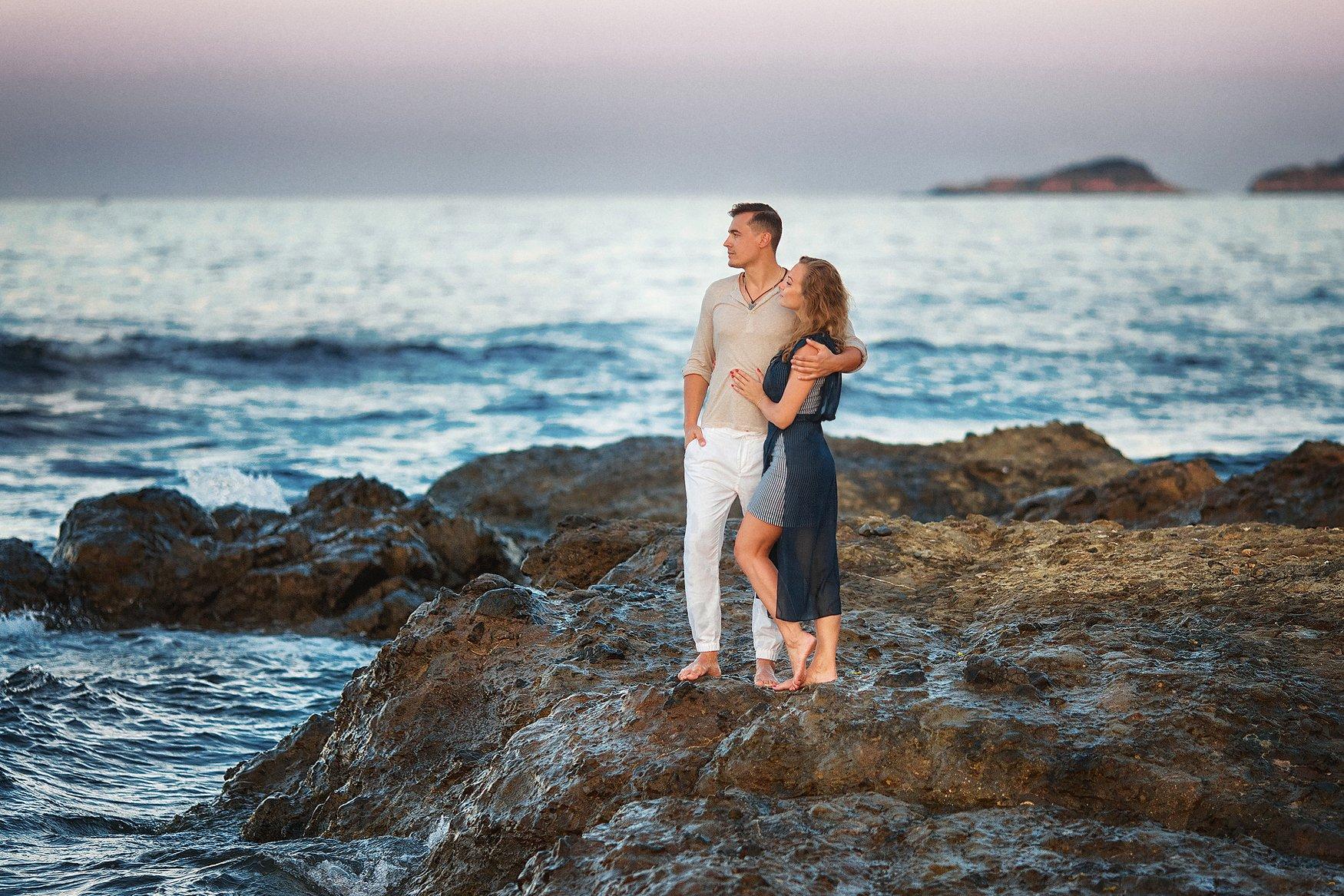 Море, лето, любовь,закат, Бармина Анастасия