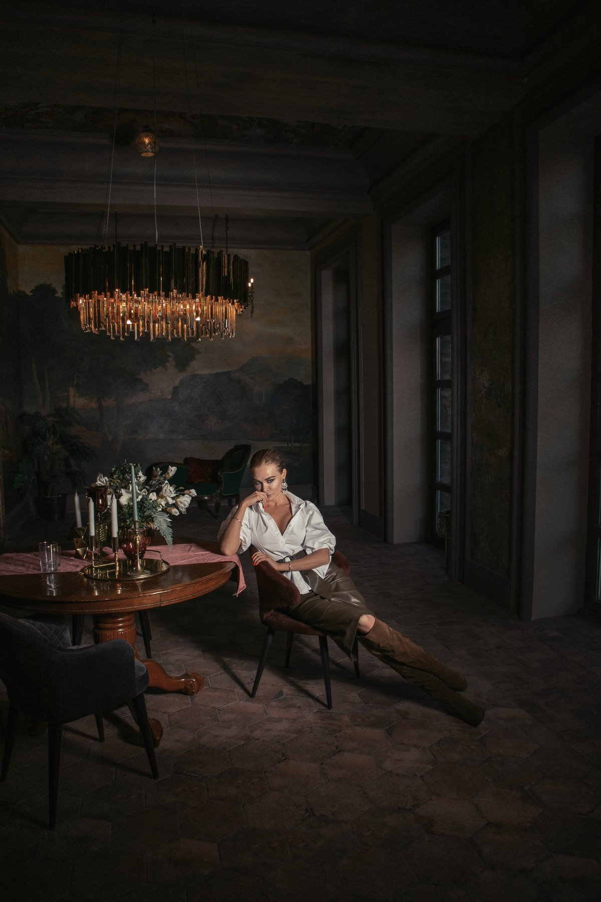 италия тордуа портрет хитрость, Анастасия Тордуа